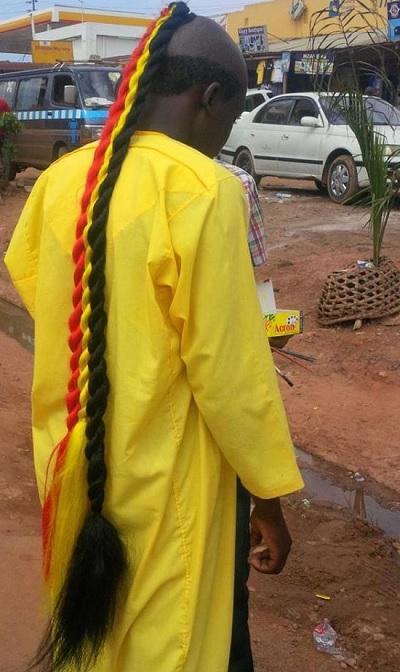 Uganda Cranes Fan in Kireka