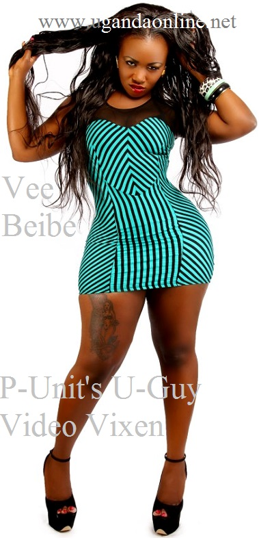 Kenya's Vee Beibe shows off huge thigh tattoo
