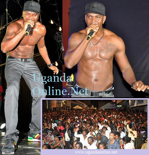 Mr. Vegas performing at the recently concluded Silk Street Jam