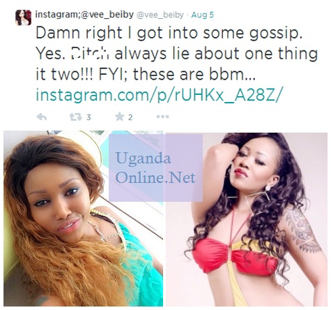 Vera Sidika attacks Hudah Monroe