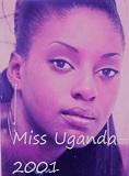 Miss Uganda 2001 Victoria Nabunya