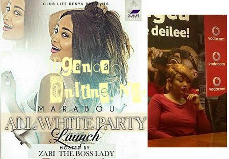 Zari takes All White Party to Kenya
