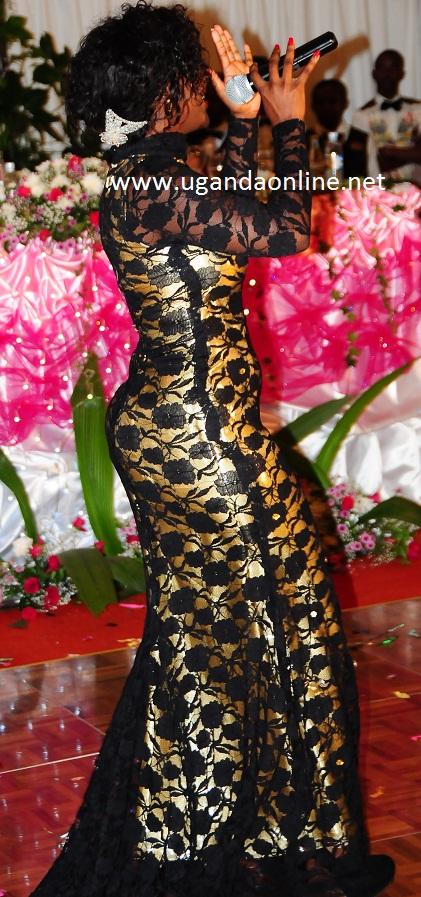 Desire Luzinda at Munyonyo on 25.Nov.2011