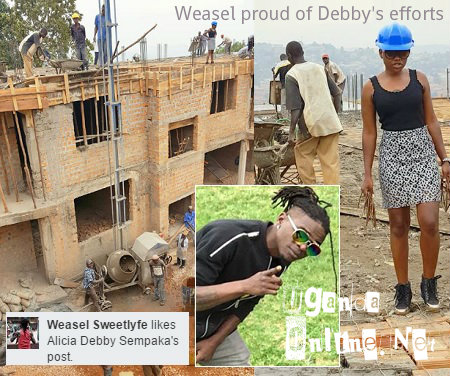 Weasel likes Debby Sempaka's construction project