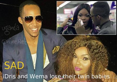 SAD - Idris and Wema lose their twin babies