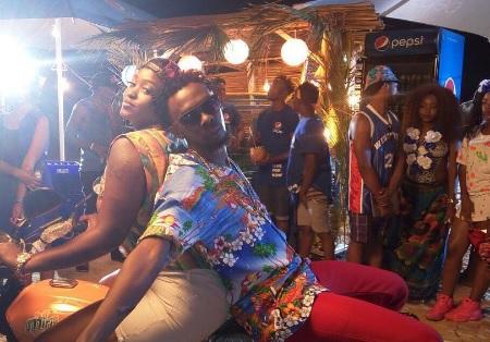 Winnie Nwagi and Mun G in a Sala Puleesa Pepsi promo