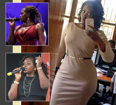 Singer Winnie Nwagi was one of the performers