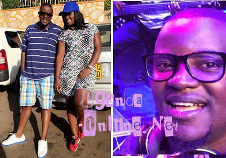 Winnie Nwagi with her Manager, Benon Mugumbya