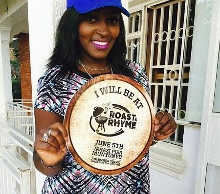 Winnie Nwagi all set for the Roast & Rhyme