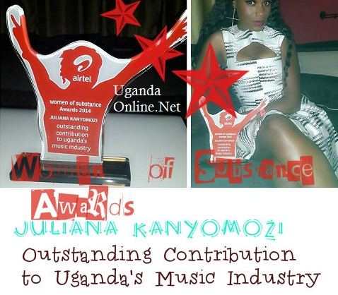 Juliana wins the Women of Substance Award again