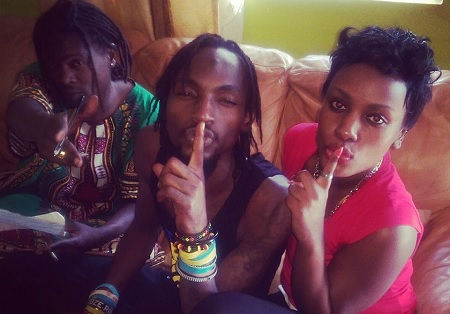 Weasel, Radio and Leila Kayondo