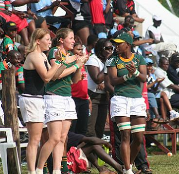 Women Rugby at Kyadondo Grounds