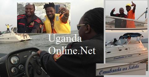 Bobi Wine and Ragga Dee at One Love Beach