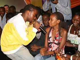 Aziz Azion Sings to Barbara Yata