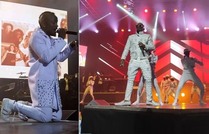 Ykee Benda at one of his concerts