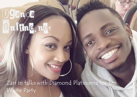 Zari and Diamond Platinumz in talks for the All White Party