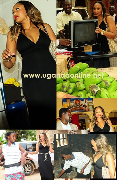 Zari Donates Items worth 4m Ugx