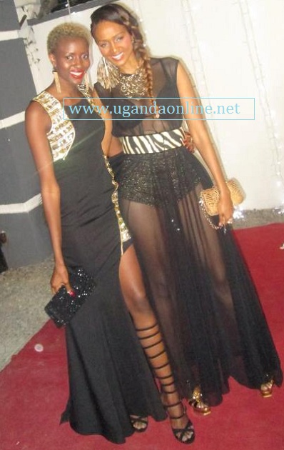 Ex Big Brother Housemates Zainab and Barbz