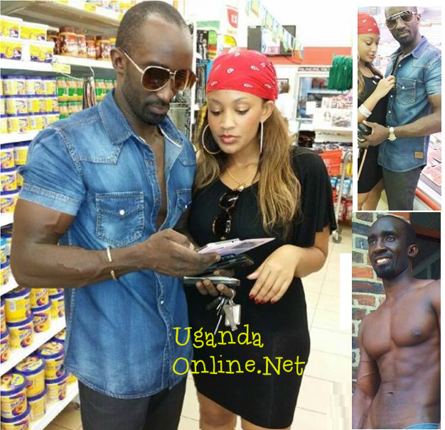 Zari and Farouk in a supermarket