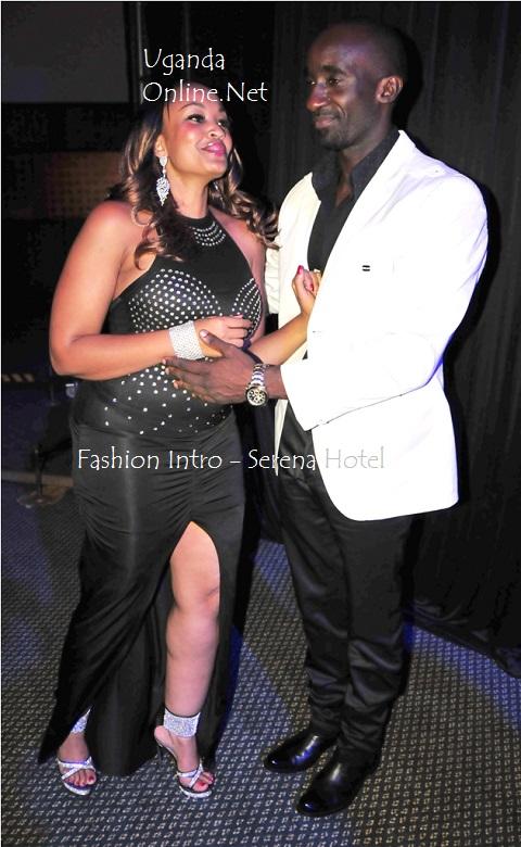 Zari and Farouk at Serena Hotel last month