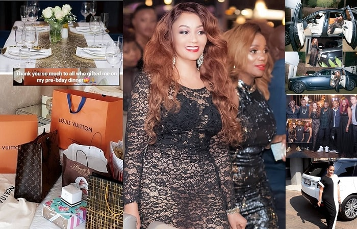 Zari during her 39th birthday celebration
