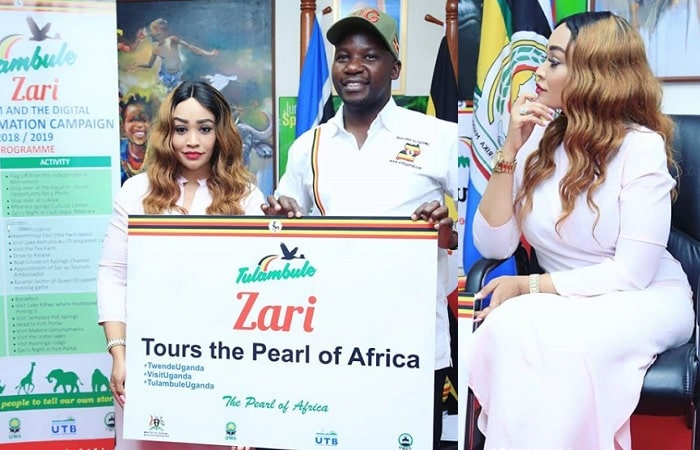 Zari tours the peral of Africa campaign kicks off