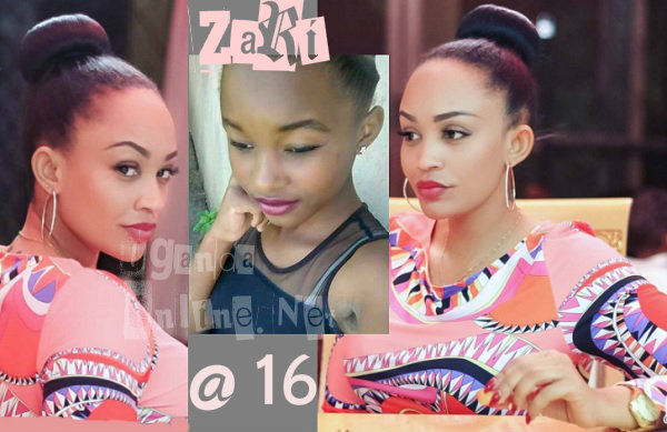 Shocking picture of Zari at 16