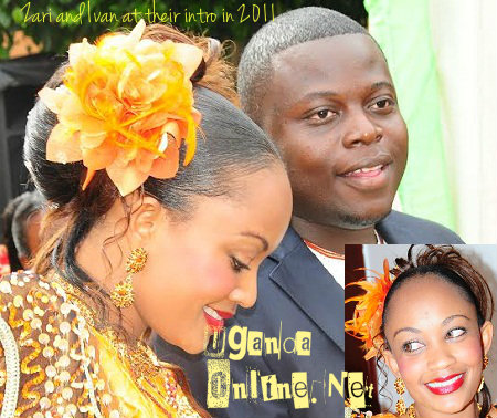 Zari and Ivan during their introduction ceremony in 2011