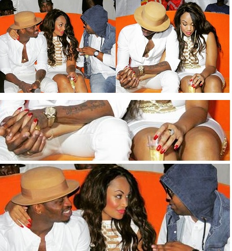 PDA: Zari and Diamond Platnumz