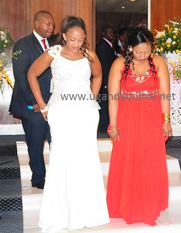 Zari in white during the after party
