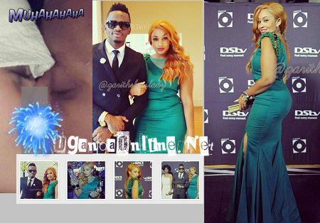 Zari and her very good friend Diamond Platnumz