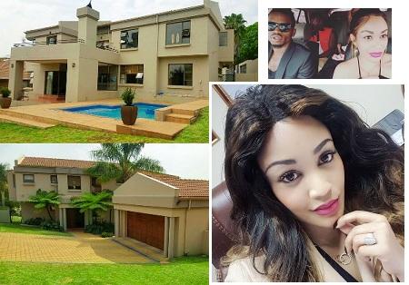 Zari's South Africa house from Diamond Platnumz