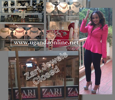Garden City based Zari Jewels closed by URA.