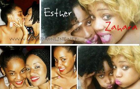 Zahara and Ex-BBA Hotshot, Esther Akankwasa