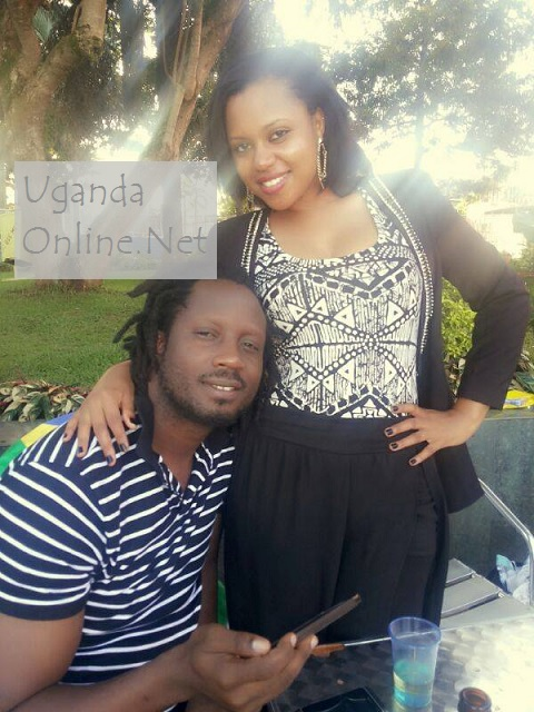 Bebe Cool and his lovely boo Zuena