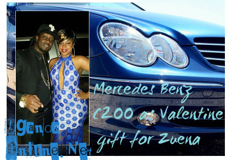 Merc as a valentine's gift for Zuena