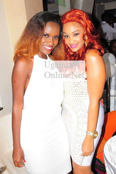 Juliana and Zari at the Ciroc Withe Party